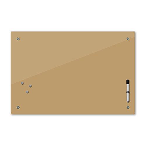 Beige Farbpalette (Memoboard mit Winter SALE 60 x 40 cm, 24 Farben - braun -