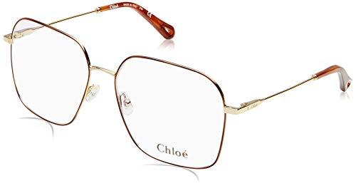 Chloè Damen CE117S 766 56 Sonnenbrille, Gold/Blue,