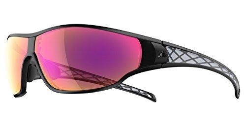 adidas Brille a192 tycane S black matt 6067 LST Bright Vario purple mirror