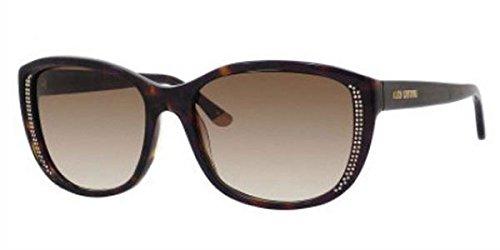 Juicy Couture Sonnenbrille JU 518/S 086 57Y6 (57 mm) havanna
