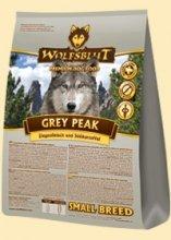 Wolfsblut Grey Peak SMALL BREED Trockenfutter für kleine Rassen mit Ziegenfleisch und Süßkartoffel 8 kg (4 x 2 kg)