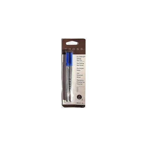 Cross Gel Rolling Kugelschreiber-Mine, Blau, 2er Pack