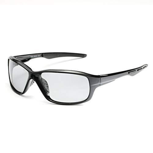 ZKAMUYLC SonnenbrilleSport Farbwechselgläser Photochrome Polarisierte GläserFahrrad MTB Reiten Angeln Radfahren Sonnenbrillen Outdoor-Ausrüstung