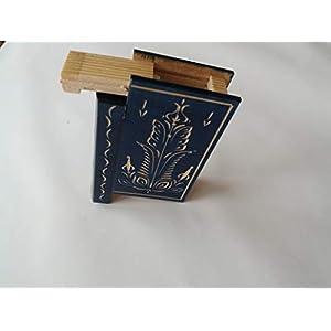 Blau geheime Puzzle magische Bücher Kasten schöne Schmuckkoffer Überraschung mit Geheimfach im Gehirn Teaser
