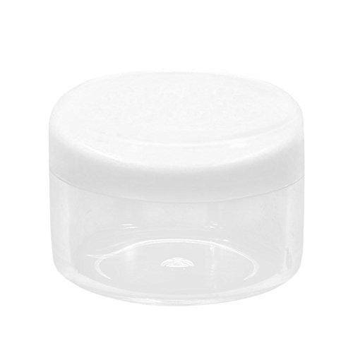 Pinzhi 10 pièces de rondes de crème de voyage Bouteille Vide en Plastique Cosmétique conteneurs œil Shadowâ Sub Bouteille