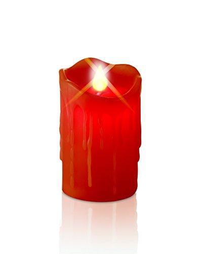 TV Unser Original 08858 christmaxx - Corona de adviento (incluye vela de cera con led)
