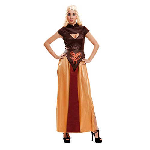 My Other Me Me-202726 Disfraz Reina Dragón guerrera para mujer, M-L (Viving Costumes 202726)
