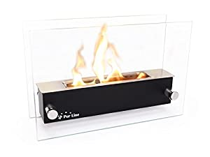 Bio-Ethanol Tabletop Fireplace - Bio Ethanol Gel Tabletop Fireplace NYX CRISTAL