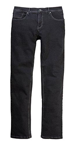 Étui de protection en jeans de carlo colucci --- modèle :  enrico --- 7349 black wash