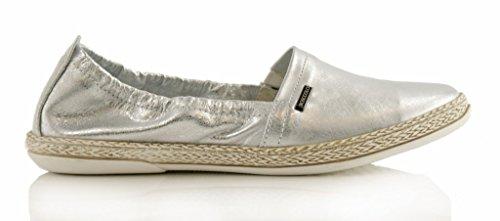BOSCCOLO Mocassin Femme silver