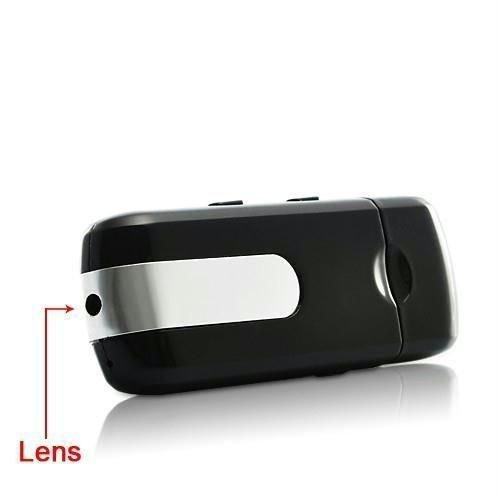* USB Pendrive con cámara integrada.  * Puedes utilizarlo como pendrive a modo de almacenamiento, o como cámara espía.  * Haz fotos o graba vídeos sin que nadie se entere.  * No se darán cuenta de que estás grabando un vídeo o haciendo fotos.  * Disp...