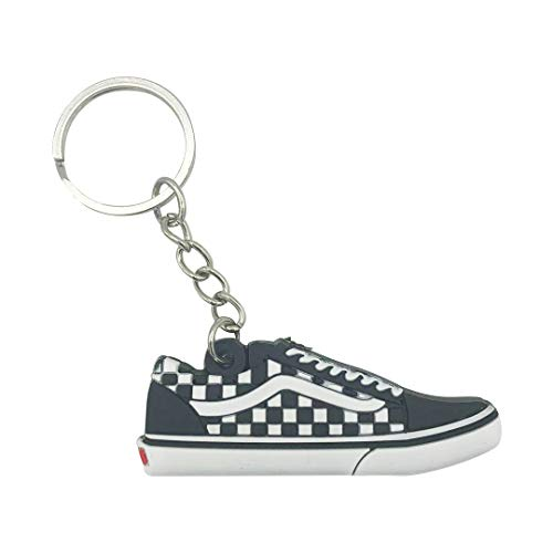 ProProCo Sneaker Schlüsselanhänger Van Schlüsselanhänger Schuh anhänger Fashion für Sneakerheads,Hype-Beasts Supreme Palace Skateboard Anhänger (Checkered)