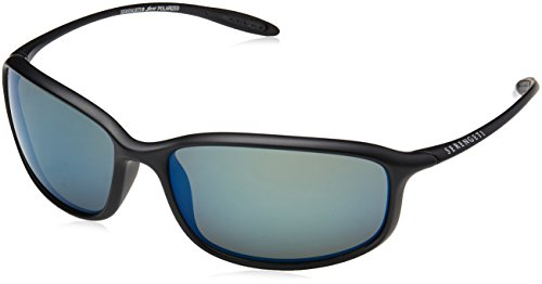 Serengeti Eyewear Erwachsene Sestriere Sonnenbrille, Satin Black, Small/Medium