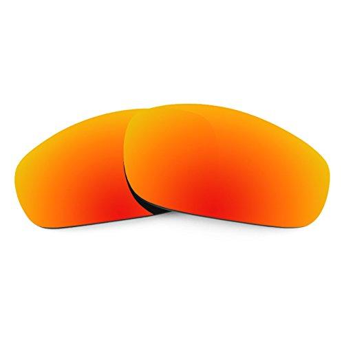 Revant Ersatzlinsen für Oakley Fives 4.0 Polarisierung Elite Feuerrot MirrorShield®
