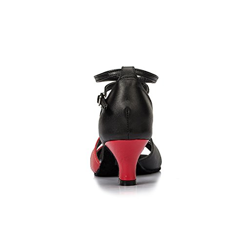 Miyoopark , Salle de bal femme Black/Red-5cm Heel