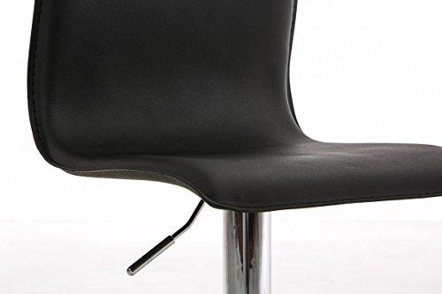 Clp sgabello cucina regolabile paris sedia bar imbottita e