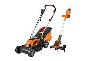 Yard Force 32cm Rotary Cordless Lawnmower and Grass Trimmer Twin Pack with Lithium-Ion 40V Battery (B07KX6GFMB) | Amazon price tracker / tracking, Amazon price history charts, Amazon price watches, Amazon price drop alerts