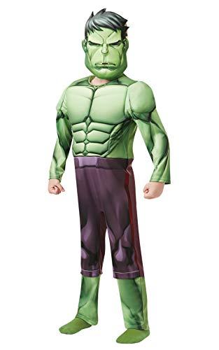 Rubie 's 640893Offizielles Marvel Avengers Hulk Deluxe Kind costume-age Höhe 140cm, Jungen, (Kinder Hulk Avengers Kostüme)