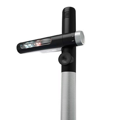 Velda 128062 Teichschutz Bewegungssensor mit Lichtblitz, Schall und Ultraschall, Pond Guard Shuffle