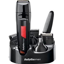 BaByliss for Men 7056DU Titanium 8 in 1 Grooming System (DD412AH) - 31tW9Y4jkGL - BaByliss for Men 7056DU Titanium 8 in 1 Grooming System (DD412AH)