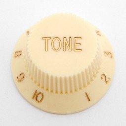Göldo KBSTK Tone-Knopf für Strat / creme