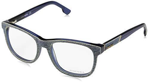 Diesel optical frame dl5124 091 52 montature, blu (blau), 52.0 unisex-adulto