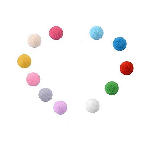 Boule Mousse de couleur pour Pendentif Diffuseur de Parfum (Rose). Livraison gratuite si achat avec pendentif.