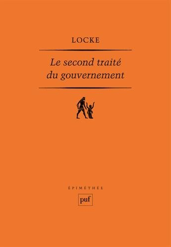 Le Second traité du gouvernement par John Locke