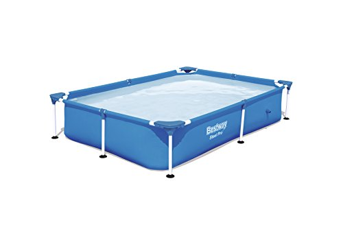 Piscina Desmontable Tubular Infantil Bestway Splash Jr. Frame Pool 221x150x43 cm
