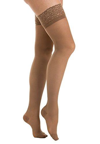 Relaxsan Prestige 870F calze elastiche autoreggenti 140 den compressione graduata 18 22 Hg Lycra 3D