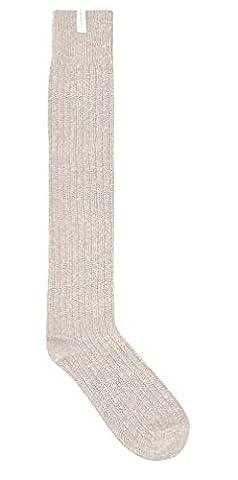 Hunter Textured Rib Knee Socks (M/L (7-11 UK), Off (Rib Socks)