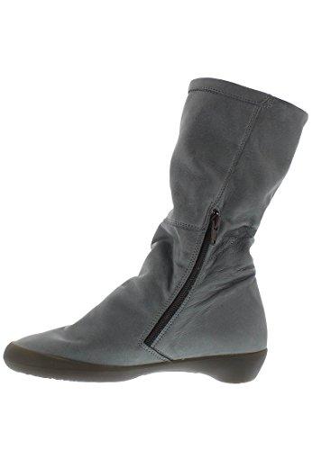 Softinos Damen Fola342sof Stiefel Grau