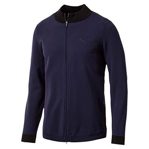 Puma Herren Evoknit Wind Sweater Pullover, Peacoat, XL (Golf Pullover Puma)