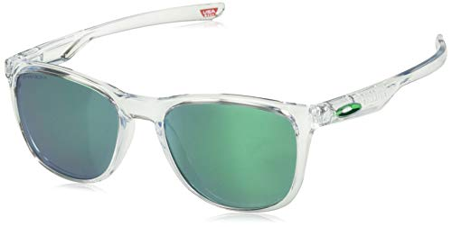 Ray-Ban Herren 0OO9340 Sonnenbrille, Schwarz (Polished Clear), 52