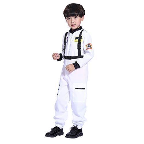 Space Suit Kostüm - GJKK Kostüm für Kinder Jungen Astronauten-Kostüm