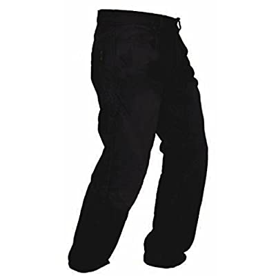 Men's Denim Motorcycle Motorbike Biker Trousers Jeans Reinforced with Aramid Protection Lining