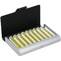 Homöopathie Taschenapotheke 9er Alu schwarz-silber (mit Braunglasröhrchen) preisvergleich bei billige-tabletten.eu