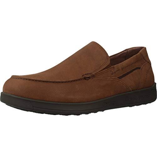 24 Horas Zapatos 10612 para Hombre Marrón 43 EU