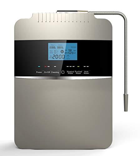 GRASSAIR Agua ionizador Agua purificador máquina/PH 2,5-11.2 Sistema de filtración de Agua alcalina...