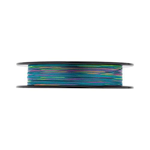 Daiwa J- Braid X8, Multicolor, 0.35mm, 36.0kg / 79.0lbs, 300m, Rund Geflochtene Angelschnur, 12755-135
