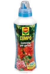 Compo 1433102005 Concime per Gerani, 500 ml, Verde, 7.9x9x28 cm