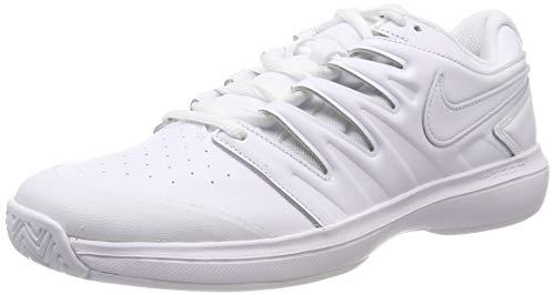 Nike Herren Air Zoom Prestige Hc Lthr Sneakers, Weiß White/Black 100, 44.5 EU (Nike Prestige)