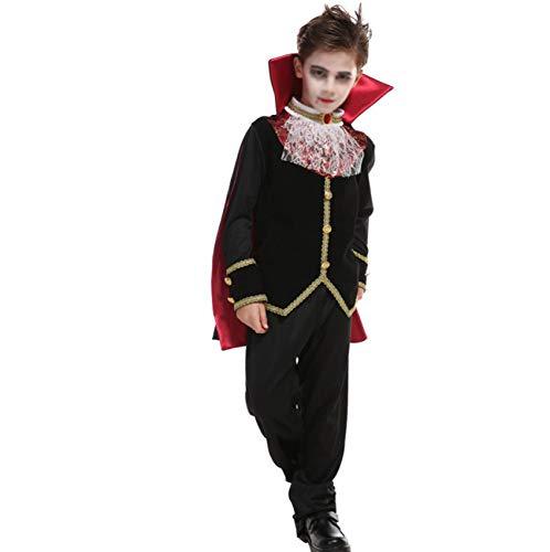 Zombie Weibliche Kostüm - GHDTGS Halloween Kleider Junge Kleid Ostern Weiblich Cosplay Rollenspiel Kostüm Kleid,XL