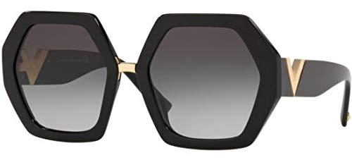 Sonnenbrillen Valentino RESORT VA 4053 BLACK/GREY SHADED Damenbrillen