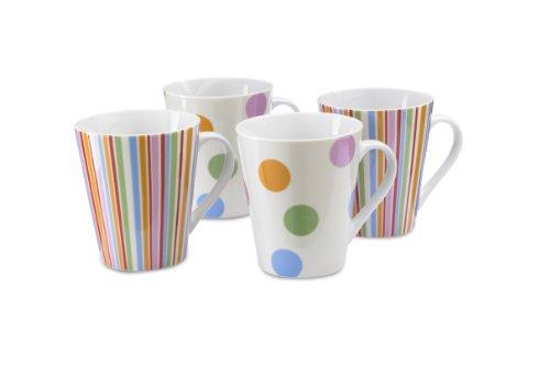 Cooksmart-Spots-Mugs-Multi-Set-of-4