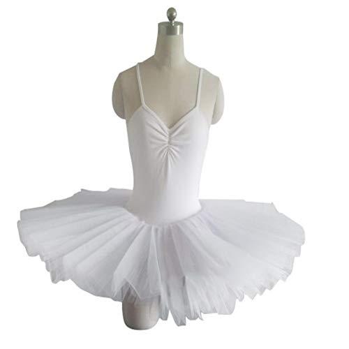 Kostüm White Swan Kind - Zhao Li Professionelle Ballett Rock Erwachsene Rock Pettiskirt Tutu Rock Herbst und Winter Praxis Kleidung White Swan Lake Kinder Kostüme/White (Color : White, Size : XXL)