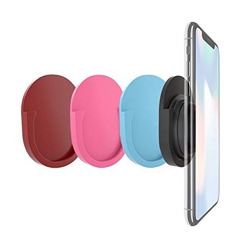 DegGod 4 Stück Universal KFZ Halterung für Handy Grip Stand und Griffe, Soft Silikon Phone Mount Holder Use for in Car, Home, Office, Kitchen - Soft-grip-stand