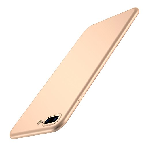Custodia iPhone 7/8 Cover, Custodia Placcatura TPU Bumper Case Silicone Anti-graffio Copertura Tacsa Caso per apple iPhone 7 Plus/8 Plus Case Cover gold