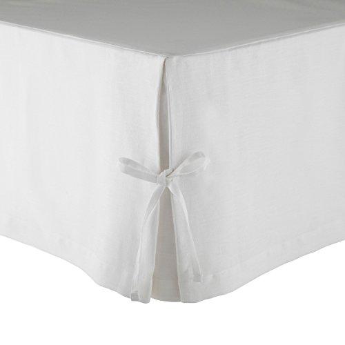 Olivier Desforges Cache sommier Amboise Lin Blanc 180 x 200 cm