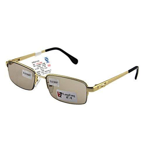 Natürlicher Kristall Stein Brille kleinen Rahmen männlichen Stil der Sonnenspiegel ist frisch und kühl, um EIN Auge zu behalten, um die Augen der müden Sonnenbrille zu schützen